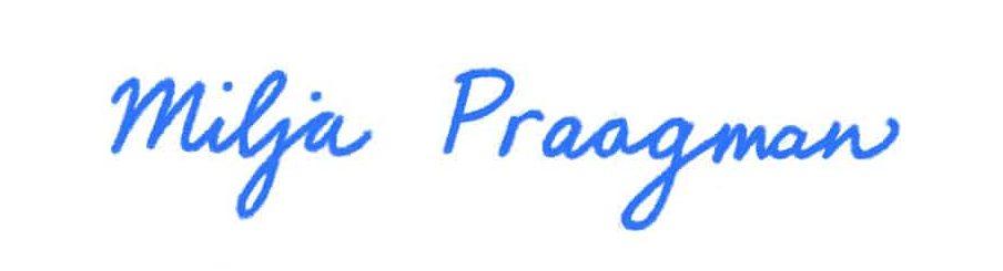Logo Milja Praagman
